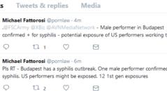 Syphilis Outbreak