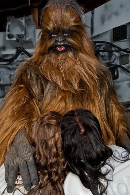 Chewbacca Star Wars Porn - The sets & art direction, plus the costumes & makeup are the first thing  that stands out as top notch. Very true to the original, there was  tremendous ...