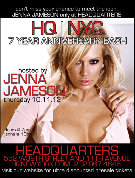 Special Celebrity Host Adult Industry Icon Jenna Jameson. New York, NY ...